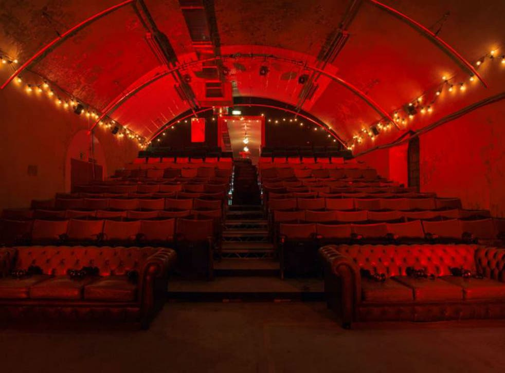 Time to take the unique cinema experience underground for autumn