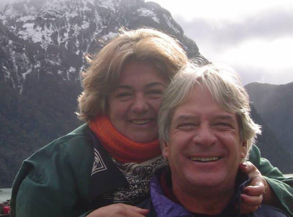 Regina Murmura and her husband Francisco