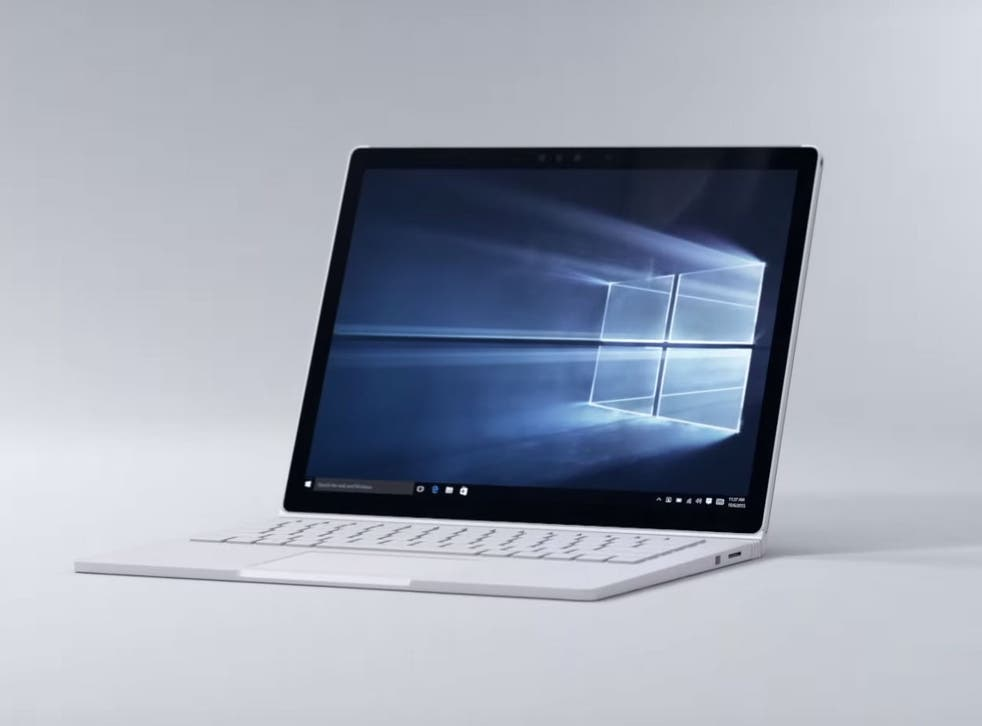 Microsoft's new Surface Book