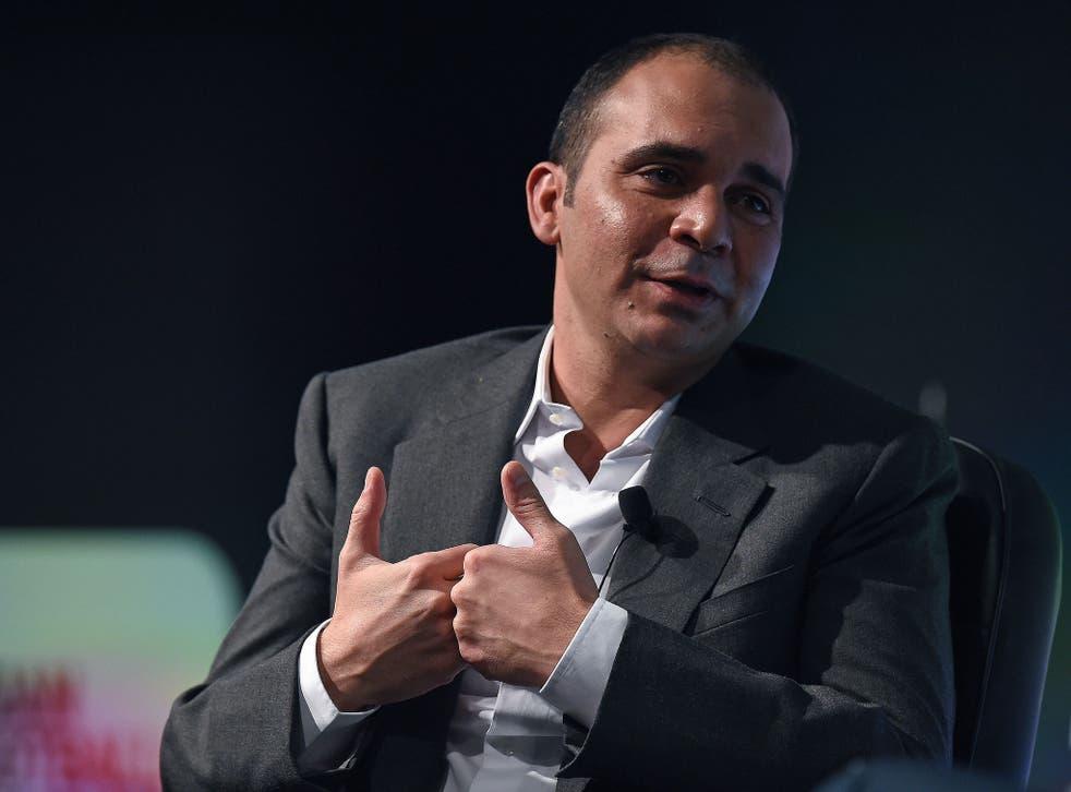 Fifa presidencial hopeful Prince Ali bin al-Hussein