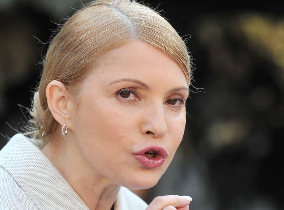 Yulia Tymoshenko is regaining popularity after Petro Poroshenko beat her to the presidency last year