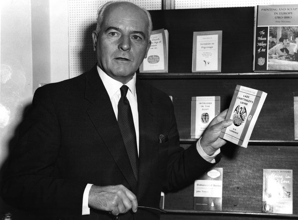 Pick up a Penguin: founder Sir Allen Lane, pictured in 1960