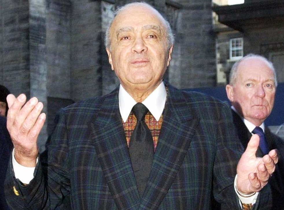 Former Harrods owner Mohammed Fayed now resides in Scotland