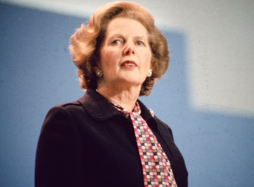 Mr Harris said it had in fact been Margaret Thatcher who convinced him to vote Tory in 1987