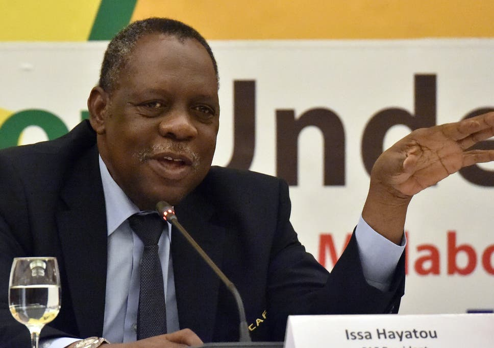 Hayatou A Former International Athlete Is Line To Stand In For Blatter