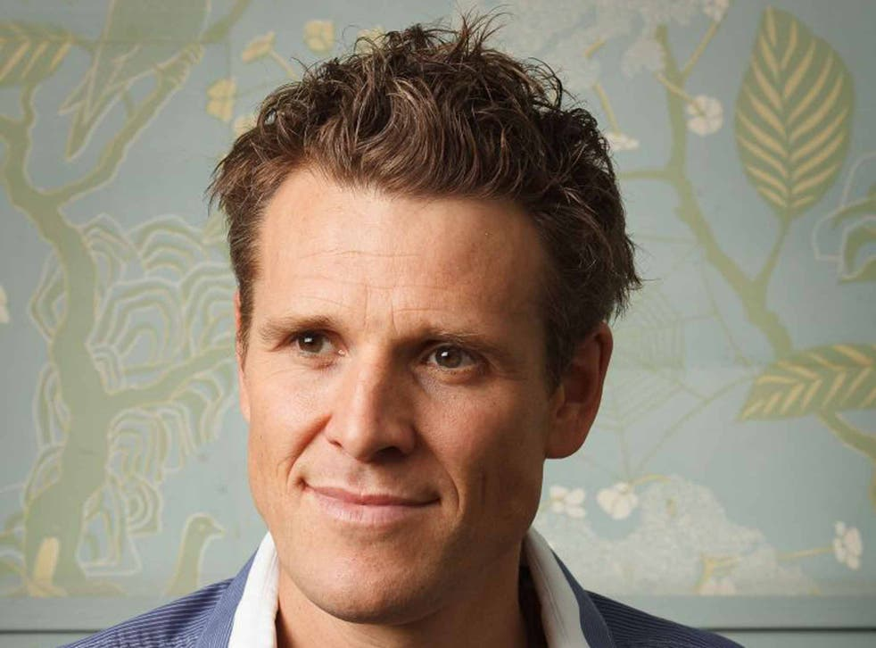 Olympic rower James Cracknell