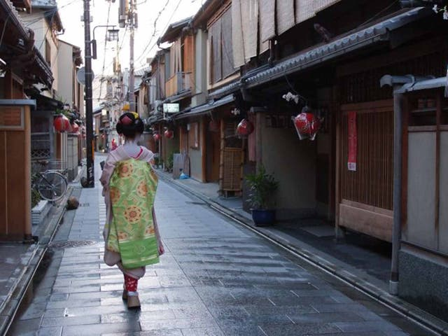 Memoirs of a geisha: experience traditional culture