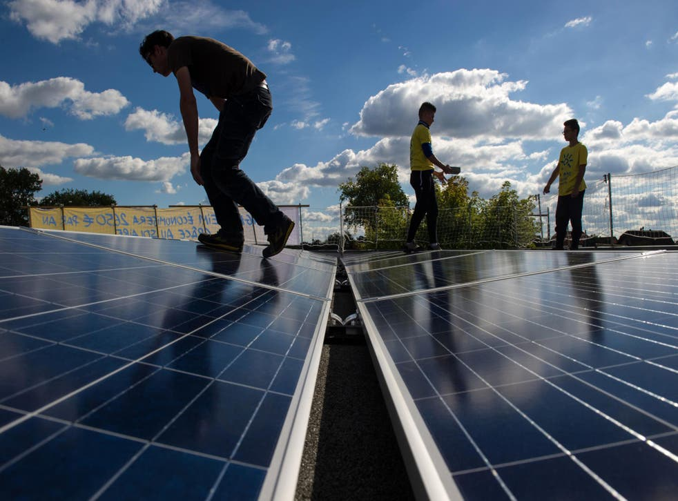 Renewable energy is under threat following the government's decision to remove subsidies
