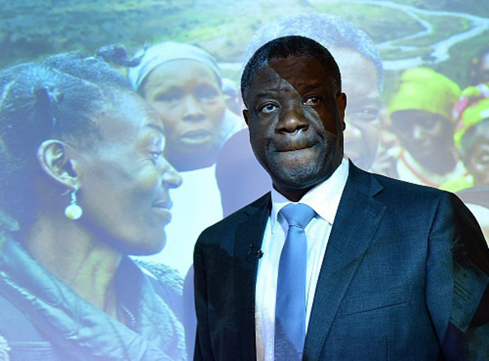 Denis Mukwege has treated thousands of victims of mass rape in the Democratic Republic of Congo