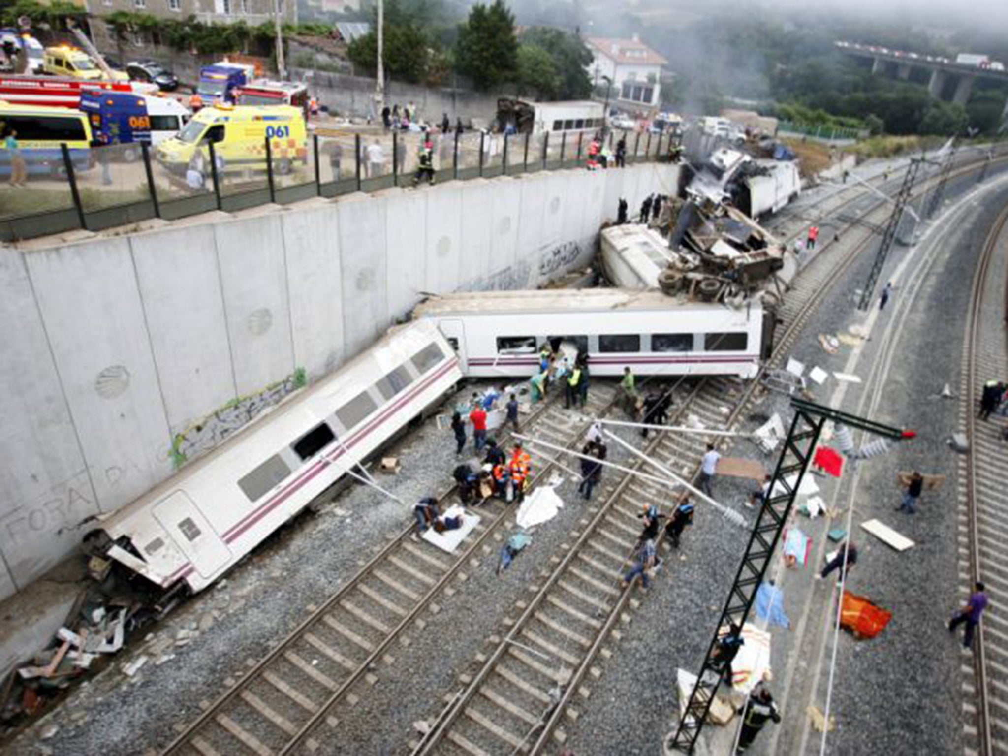 Spanish Train Crash Driver Facing 80 Homicide Charges