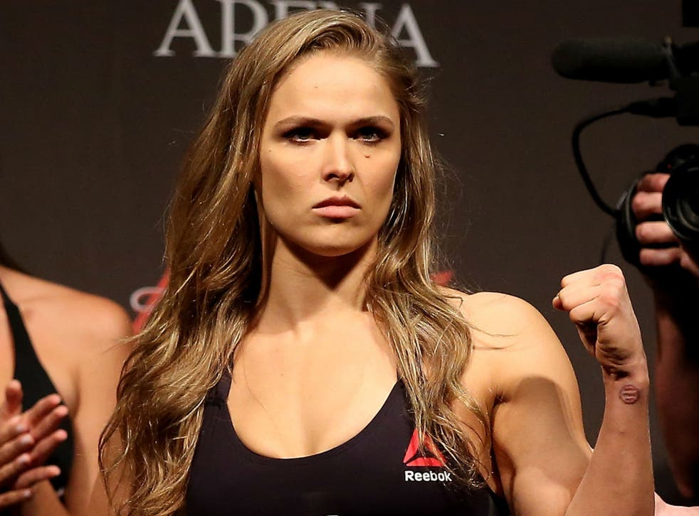 UFC bantamweight champion Ronda Rousey