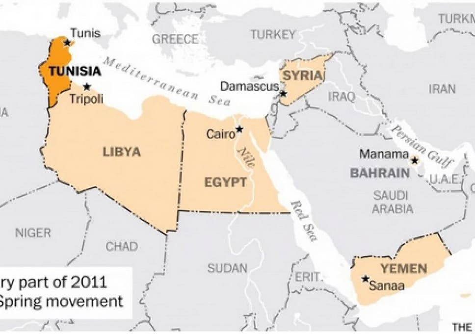 Nobel Peace Prize 2015 The One Map That Explains Why Tunisian