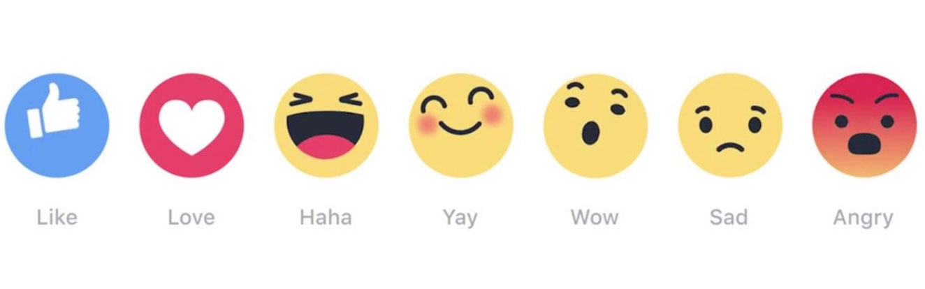 Facebook Reactions What Are The Six Emoji That Will Join The Like
