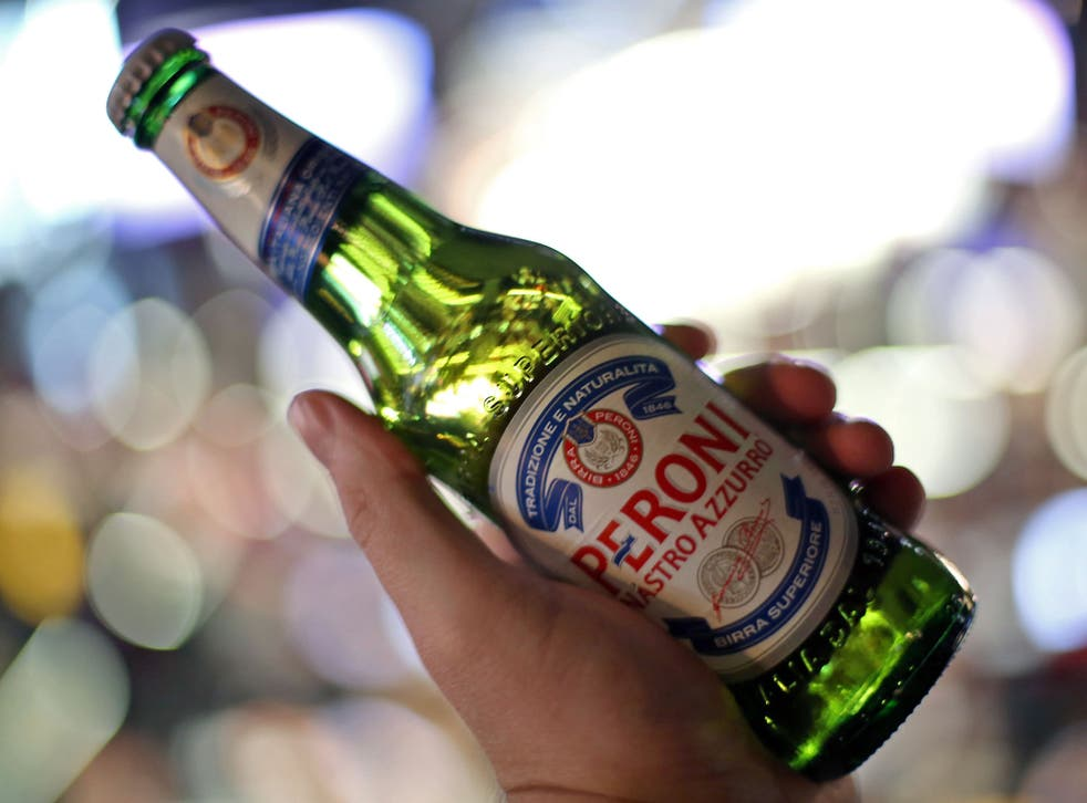 SABMiller, which brews Peroni, is the second largest brewer in the world, with 9.7% of global market share