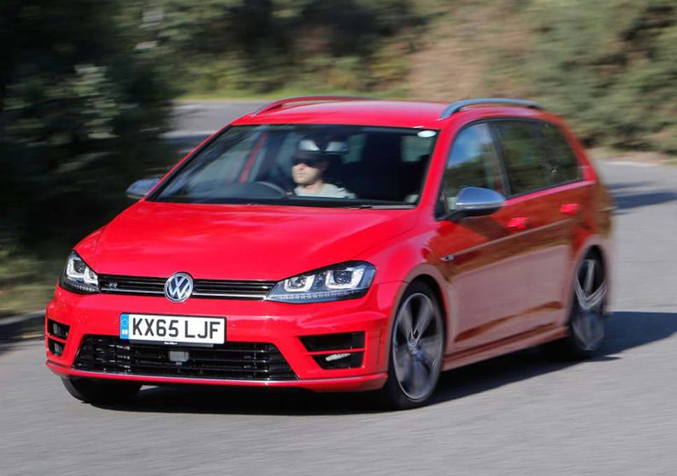 Golf R Estate >> Volkswagen Golf R Estate Motor Review New Load Lugger Aims