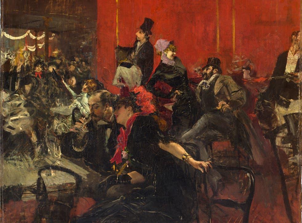 Scène de fête au Moulin Rouge, by Giovanni Boldini