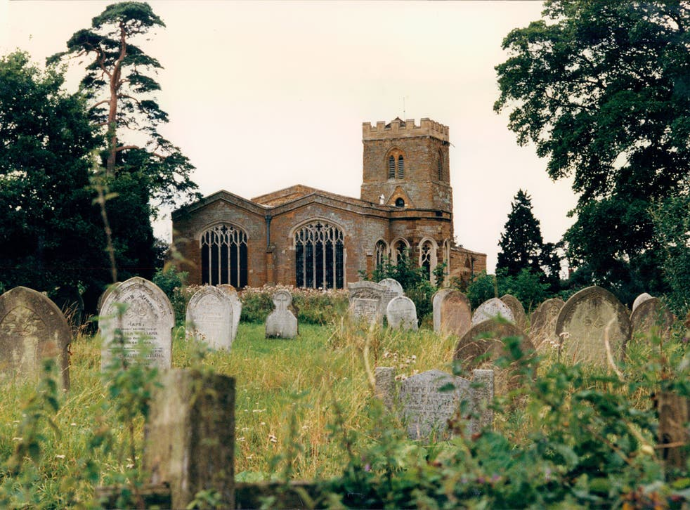 A view of St Mary's in Brington