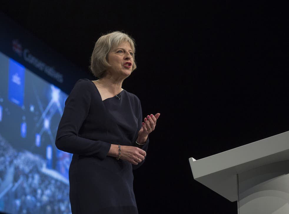 In her speech to Conference the Home Secretary, Theresa May, said that Britain did not need large numbers of migrant workers