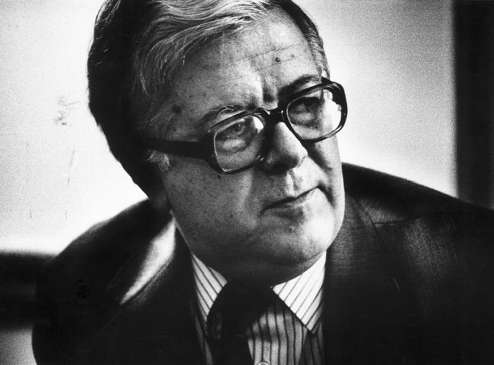 Geoffrey Howe, in 1989; his 1990 resignation stunned the Commons