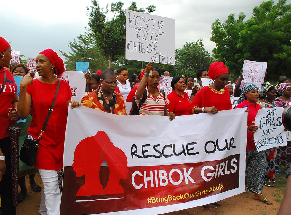 The 'Bring Back Our Girls' campaign started in cities across Nigeria, including Abuja