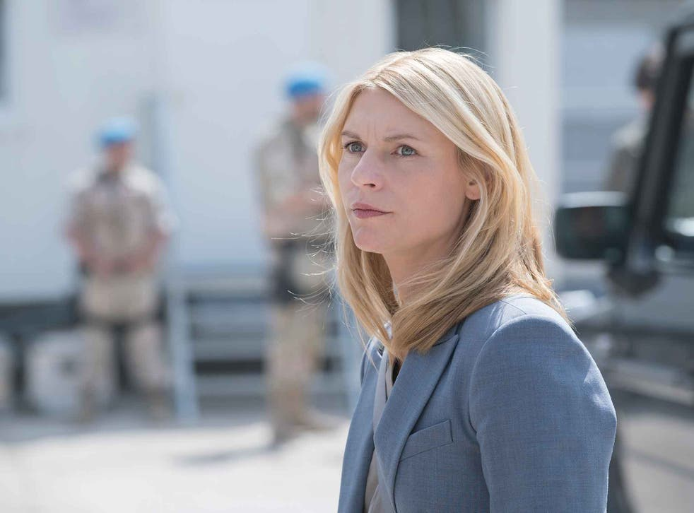 Claire Danes returns as Carrie Mathison in the explosive 'Homeland'