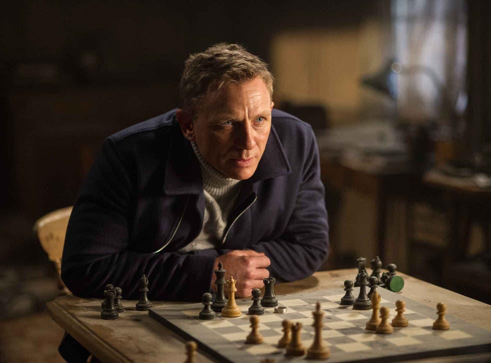 View to a kill: Daniel Craig as James Bond in 'Spectre'