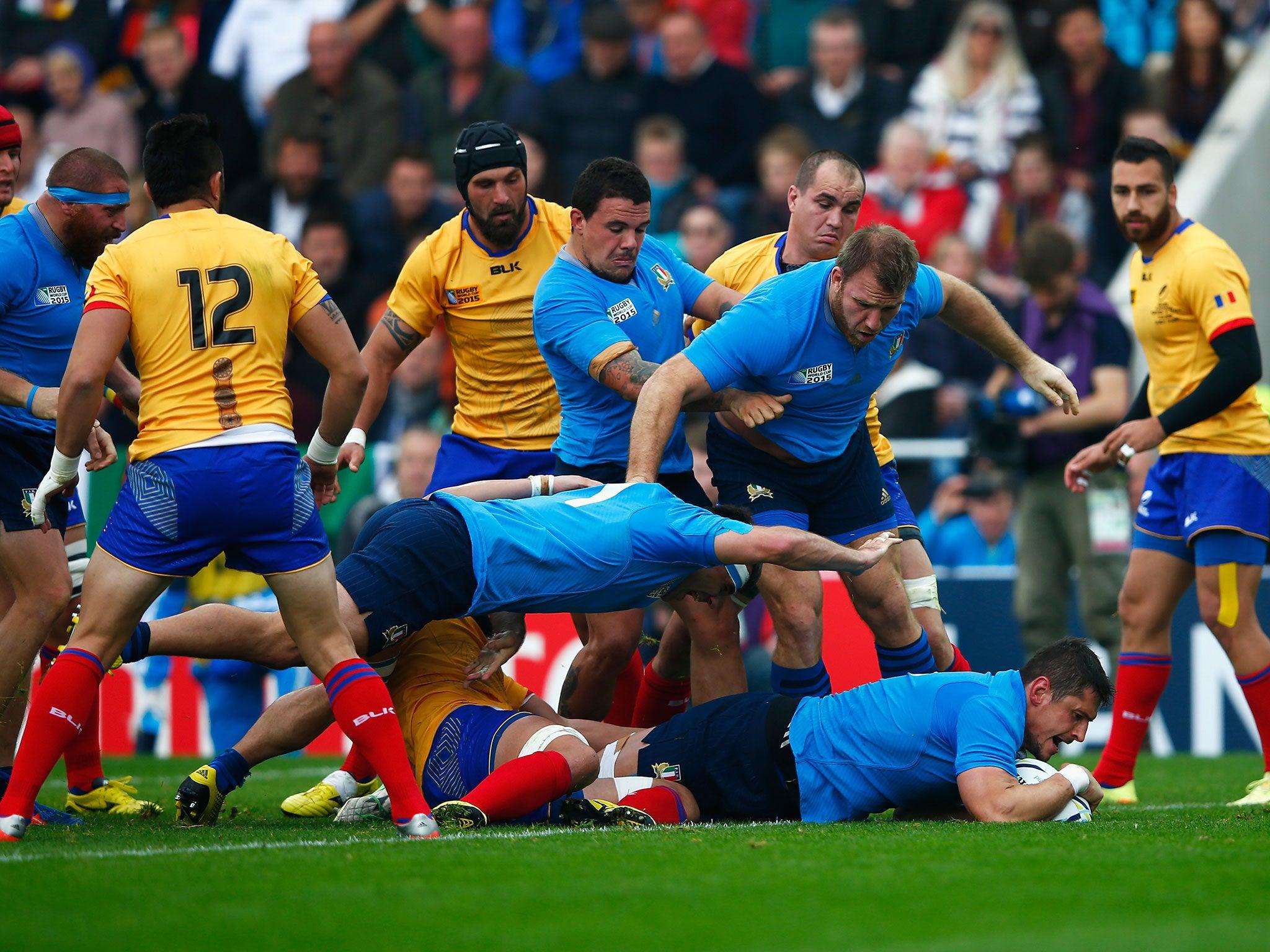 Italy vs Romania RWC 2015 match report: Azzurri secure 2019 Rugby