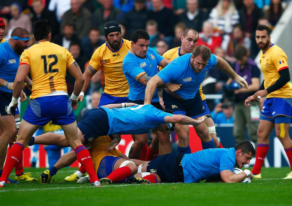 Italy vs Romania RWC 2015 match report: Azzurri secure 2019 Rugby