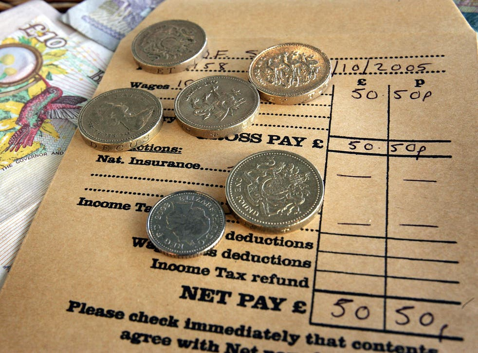 Weekly wages in the private sector are now growing at an annual rate of up to 3.6 per cent