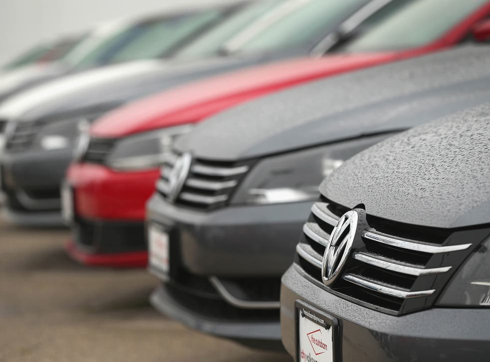 VW shares fell more than 3 per cent after a slight recovery