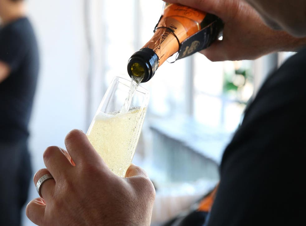 Sales of sparkling wines like prosecco are driving the boost in wine consumption.