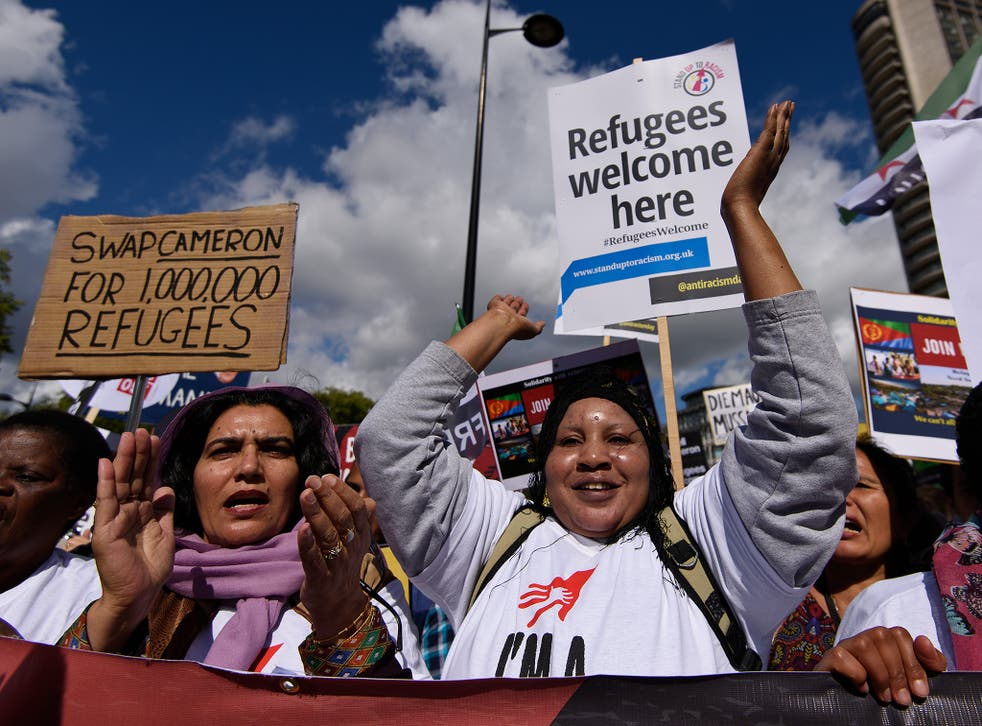 Campaigners say the Government's offer to resettle 20,000 refugees over five years is not enough
