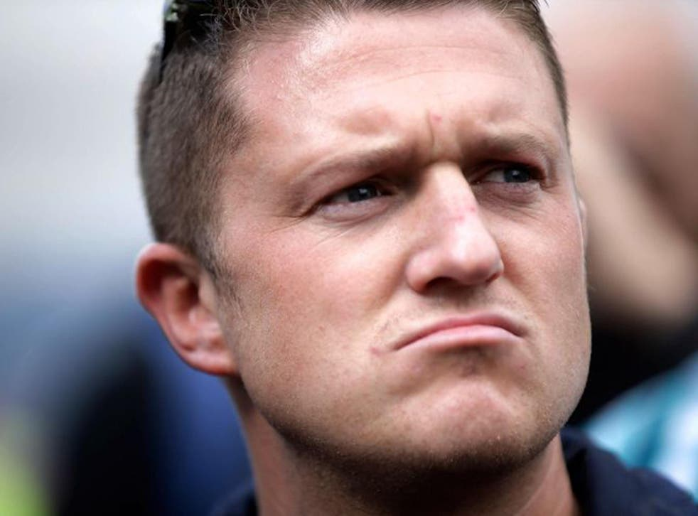 Tommy Robinson quit the English Defence League in 2013, the far-right street protest group he originally set up