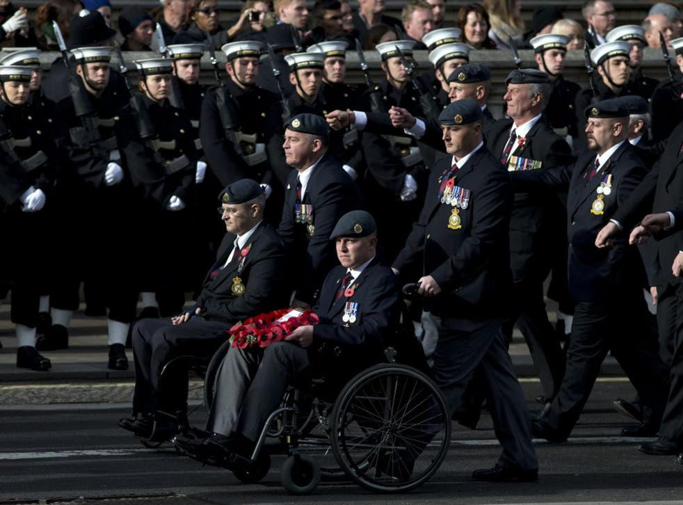 The 2014 Remembrance Day ceremony