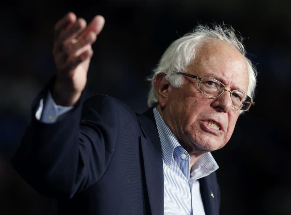 Bernie Sanders, the self-described Democratic Socialist Senator from Vermont