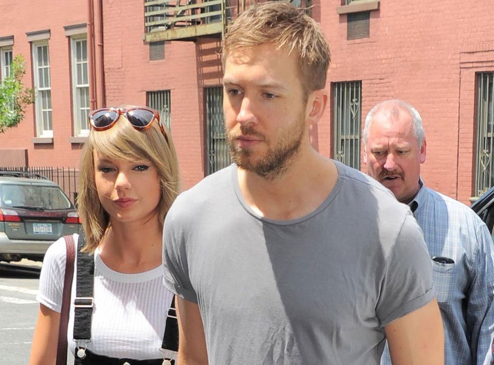 Taylor Swift and Calvin Harris have publicy been together since May 2015