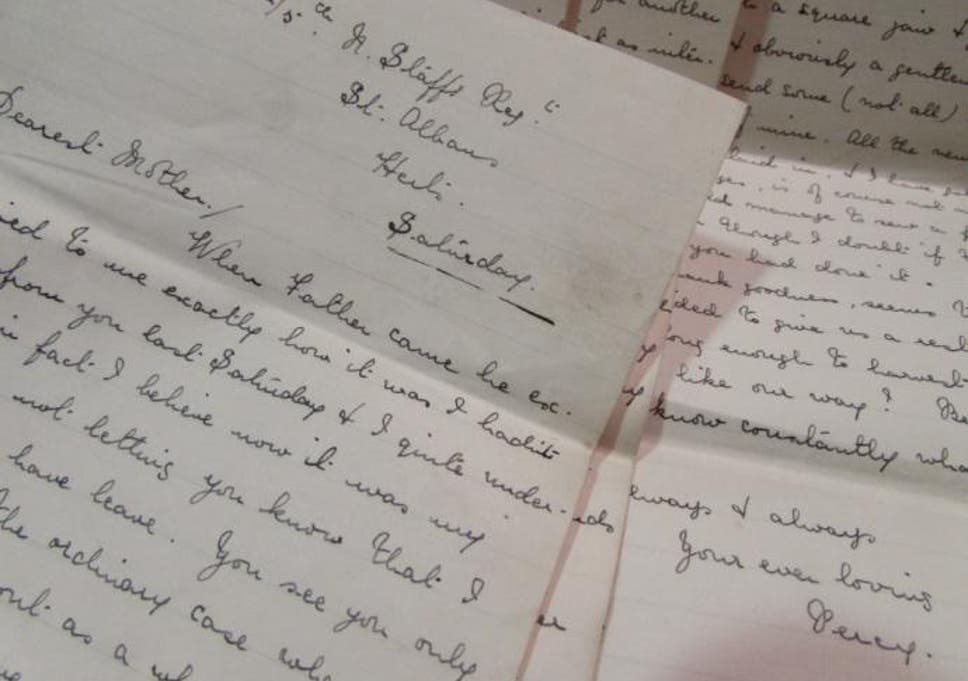 Wwi love letters find their way back home