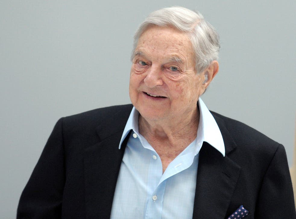 Soros, dubbed 'The man who broke the Bank of England' after betting billions against the pound, has had thousands of documents stolen