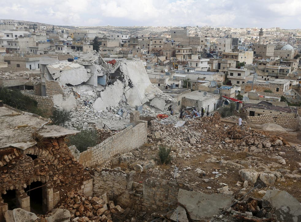 The city of Aleppo been the site of fighting and missile strikes