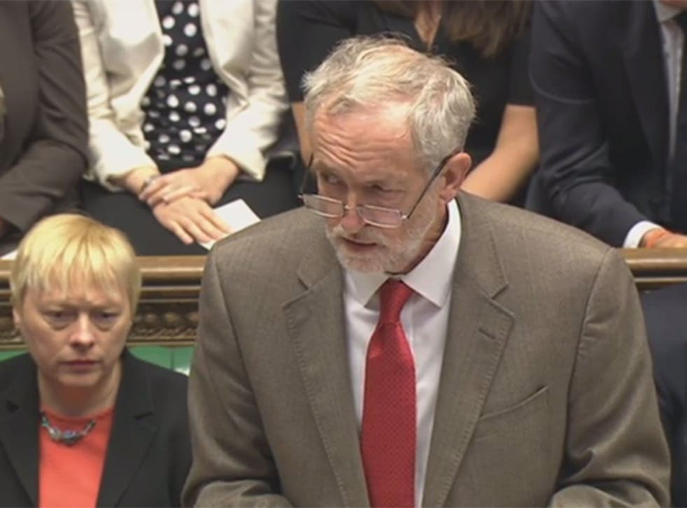 Jeremy Corbyn's withering response to MPs laughing at his questions