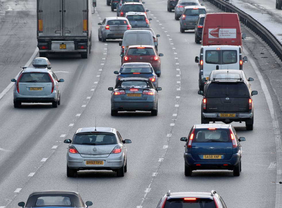 The Government says road congestion costs the economy £13bn a year, and that building more highways will help reduce it
