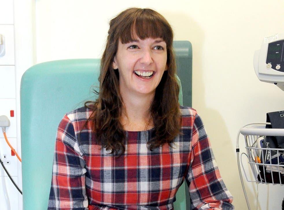Pauline Cafferkey contracted Ebola in 2014