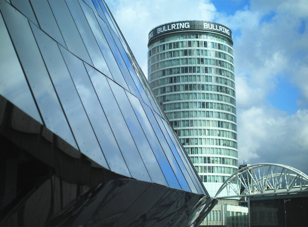 A report found that Birmingham had poured cash into big city centre projects, while letting down residents in poorer areas