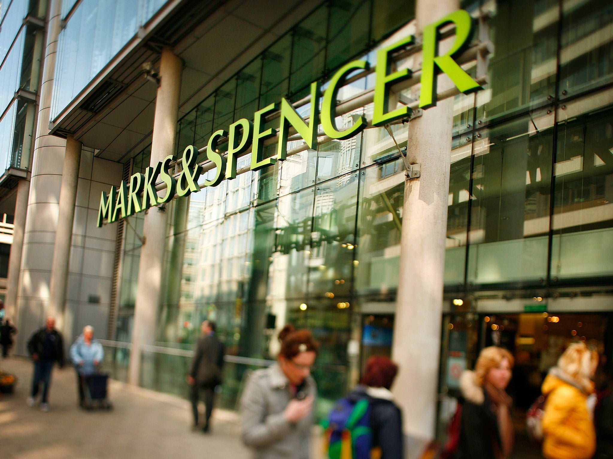 How many marks and spencers stores?