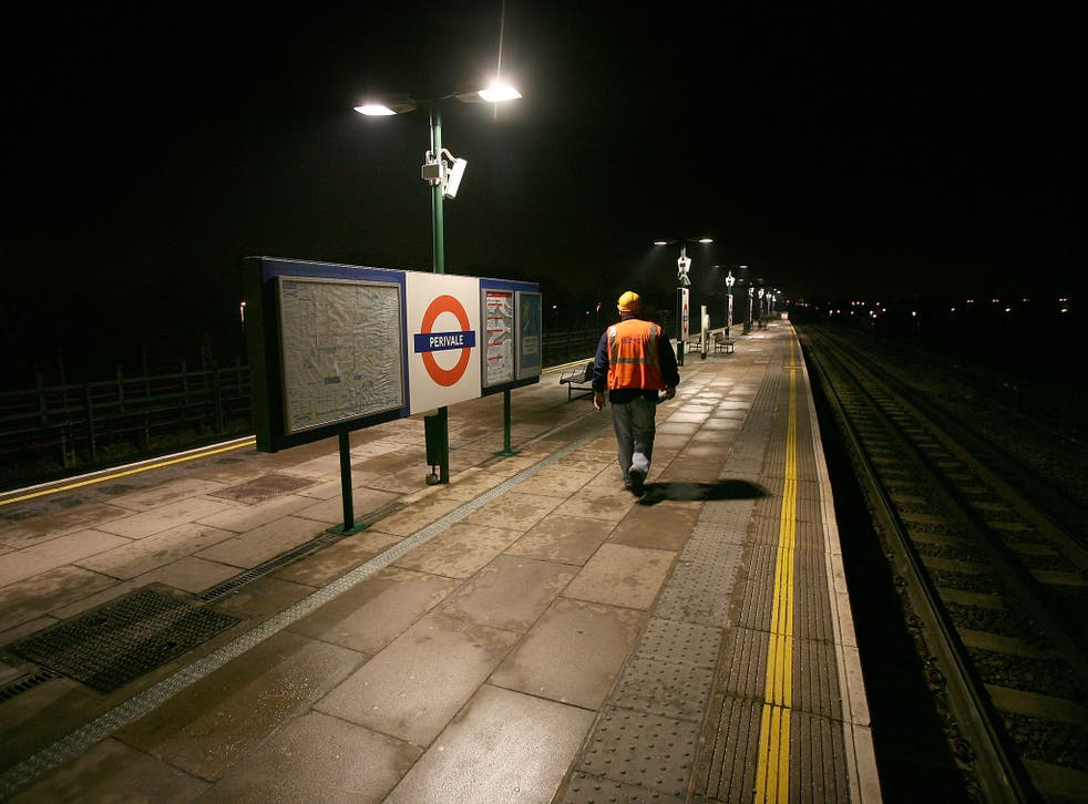 The night Tube has been delayed due to union talks