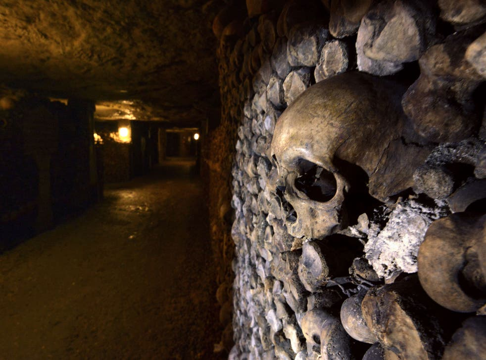 The winners will be sharing the catacombs with 6 million bodies.