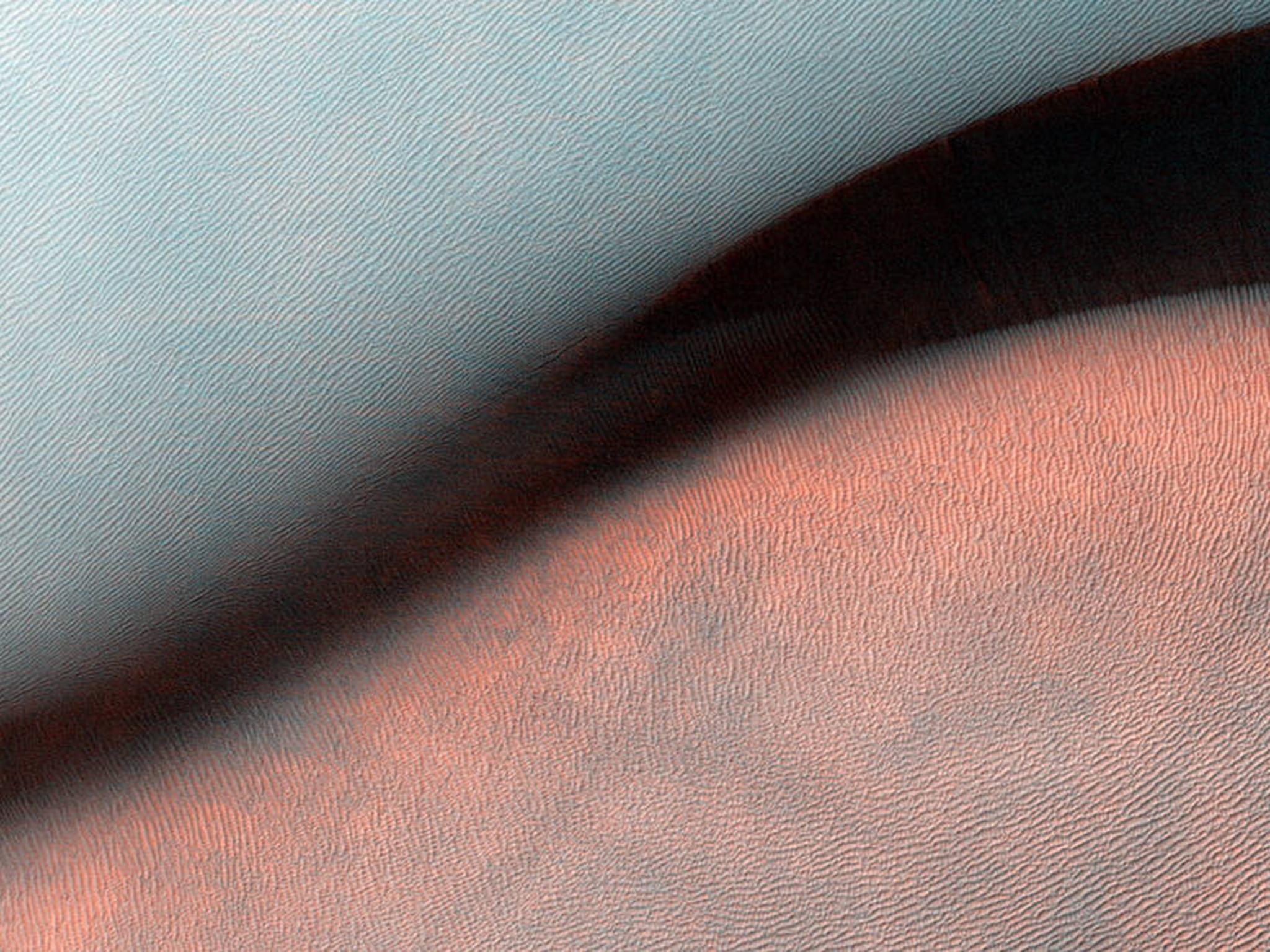 Giant Landform on Mars