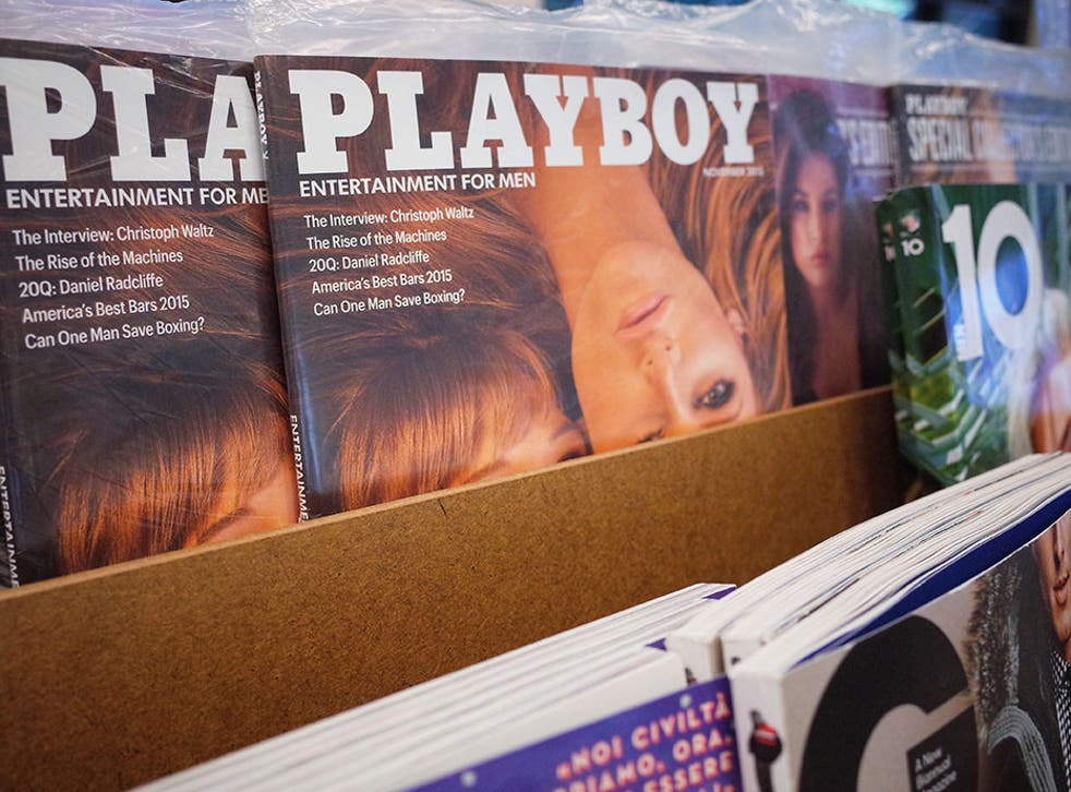 Playboy recently announced it would no longer run 'full nudity' on its pages