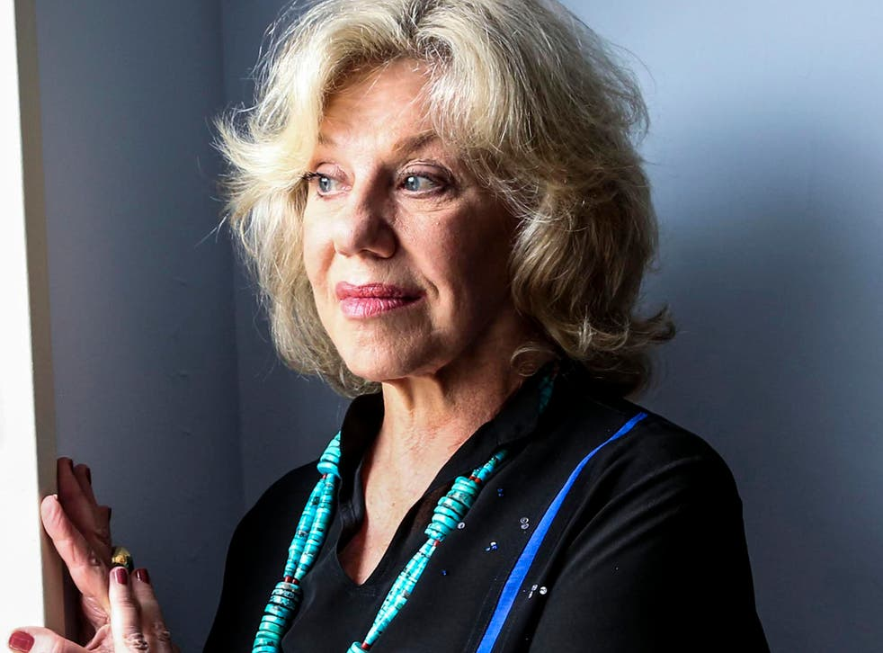 Erica Jong, author of Fear of Flying, at her home in New York