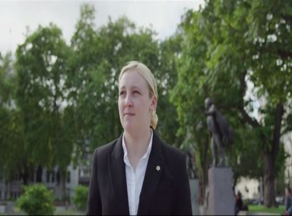MP Mhairi Black has been very supportive of the women's campaign
